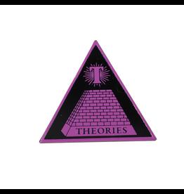 Theories Theoramid Enamel Pin