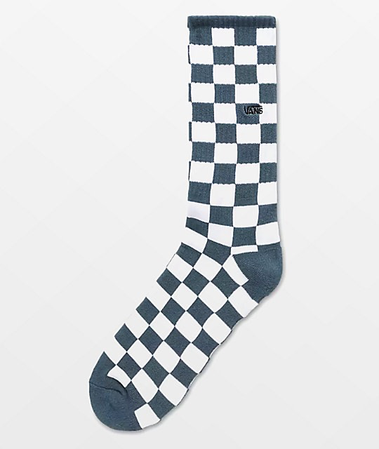 Vans Checkerboard Crew Sock (9.5-13)