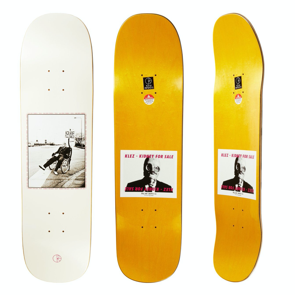 "Polar Klez Kidney For Sale 8.38"" (Arigato Shape)"