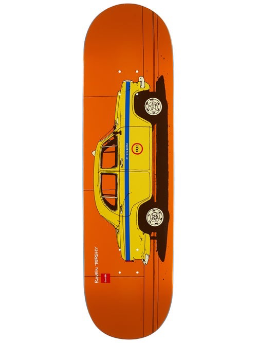 """Chocolate Tershy World Taxis 8.5"""" Deck"""