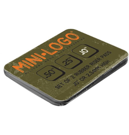 "Mini-Logo Rubber Riser Pads .1"" (2 Pack)"
