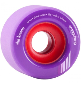 Orangatang Keanu Purple 66mm 83A
