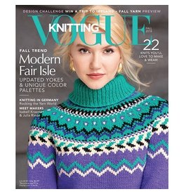 Soho Publishing Vogue Knitting, Fall 2018