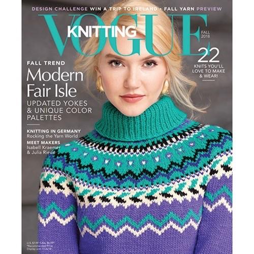 Soho Publishing Vogue Knitting, Fall 2018