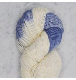 Swans Island Dip Dyed Collection, Little Dippers, Natural/Wedgwood