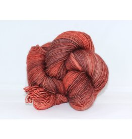 Madelinetosh Tosh Merino Light - Copper Glitter, Subtle Flame (Limited Edition)