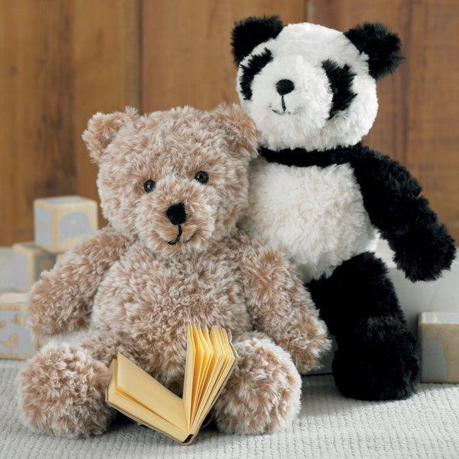 Sirdar Panda and Teddy Bear in Alpine