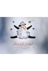 Knit Baah Purl Sweet Degrees of Thanks Card Collection