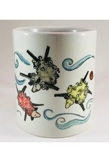 Knit Baah Purl Full Color Mug, Three Sheeps to the Wind