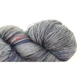 Madelinetosh BFL Sock, Asphalt (Discontinued)