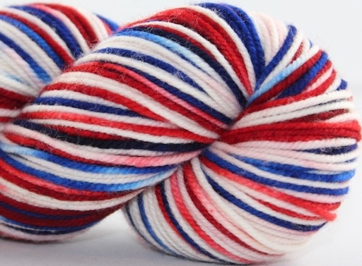 Knitted Wit Sock, Team USA