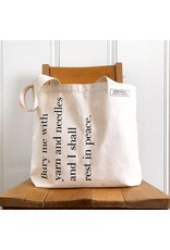 Bury Me Tote Bag