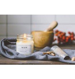 Pure Soy Wax Candle: Cinnamon Chai in Mason Jar