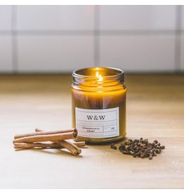 Pure Soy Wax Candle: Cinnamon Chai in Amber Jar