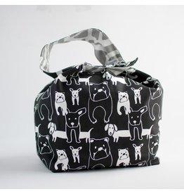 Binkwaffle Dumpling Bag - Large, Hushpuppy