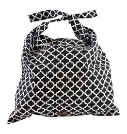 della Q Millie Roll Top Bag, Granite