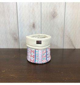 della Q Salina Fabric Yarn Bowl, Small, Menlo