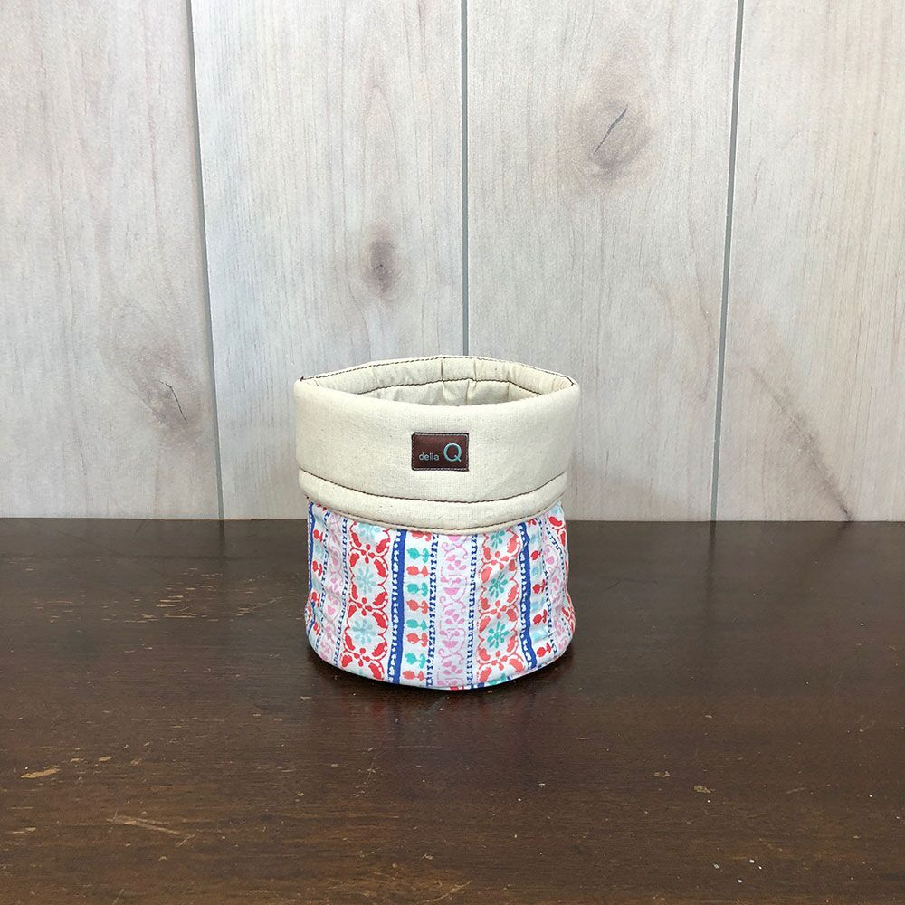 della Q Salina Fabric Yarn Bowl, Small, Menlo