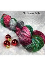 Knitted Wit Pixie Plied, Christmas Balls