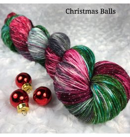 Knitted Wit Victory Sock, Christmas Balls