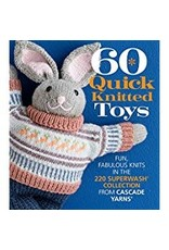 Cascade Yarns 60 Quick Knitted Toys