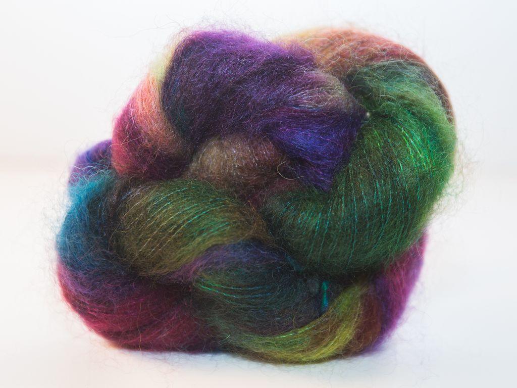Knitted Wit Fairy Floss, Monet's Garden