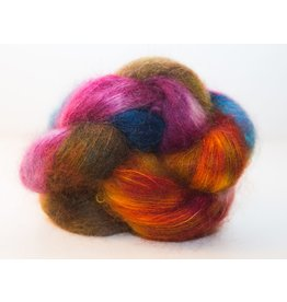 Knitted Wit Fairy Floss, Autumn Rainbow