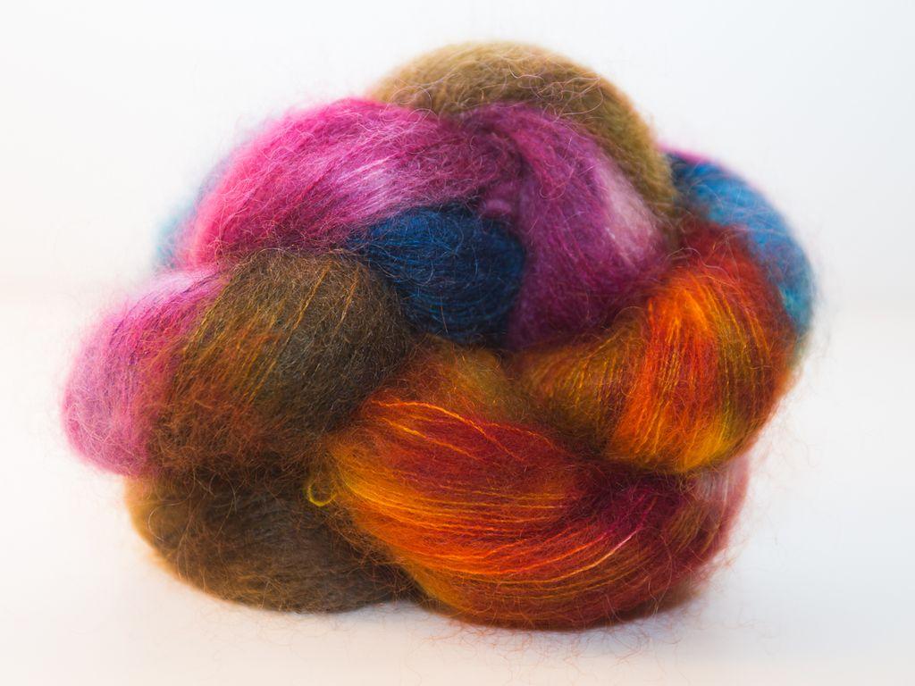 Knitted Wit Fairy Floss, Autumn Rainbow