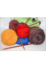 For Yarn's Sake, LLC Knitting Workshop Coterie - Thursday January 24, 2019. Class time: 11am-1pm. Suzie Failmezger