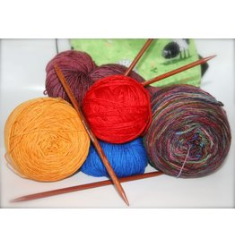 For Yarn's Sake, LLC Knitting Workshop Coterie - Saturday January 26, 2019. Class time: 10am-12pm. Y'vonne Cutright