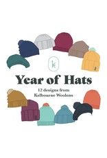 Kelbourne Woolens Year of Hats, February Hat Kit *PRE-ORDER* Release date, February 19th