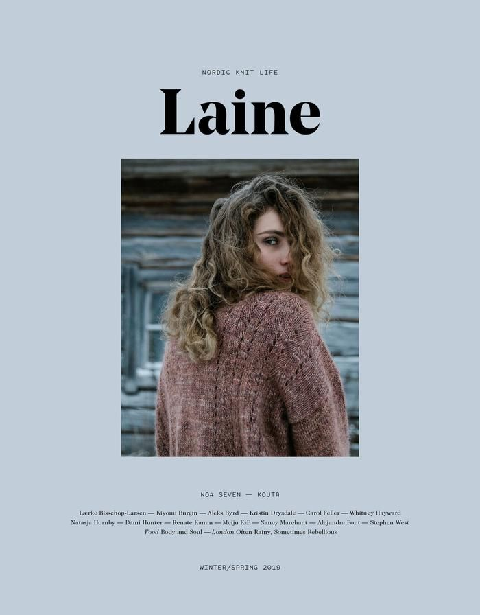 Laine Magazine Laine Issue 7 - Nordic Knit Life, Winter / Spring 2019