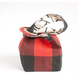 Binkwaffle Dumpling Bag - Medium, Buffalo Check