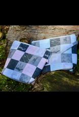 For Yarn's Sake, LLC Lumos Shawl Kit - A Poffle of Puffs with Mint Bag