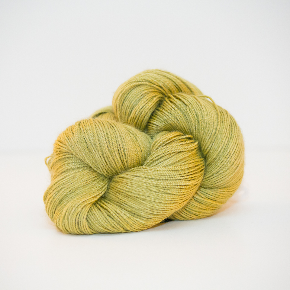 Alpha B Yarns Lovely B, Two Olives Please