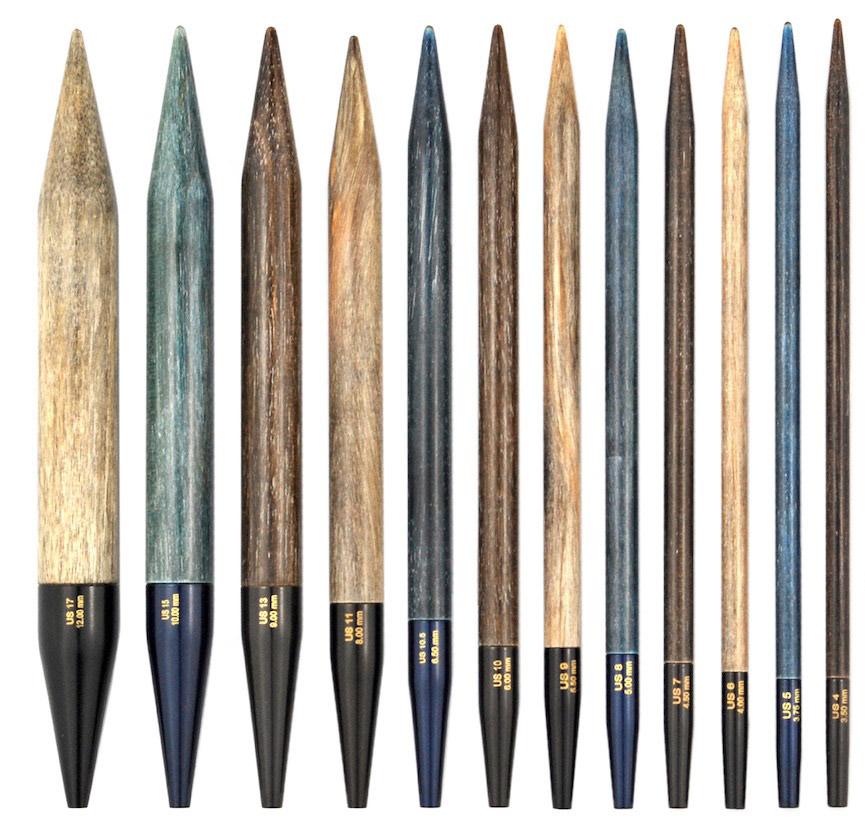Lykke Indigo 3.5-inch Interchangeable Needle Tips, US 8