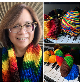 For Yarn's Sake, LLC Planned Color Pooling: Shall We Dance. Sunday October 20, 2019. Class time: 1-3:30pm.<br /> Michele Lee Bernstein