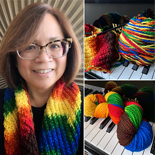 For Yarn's Sake, LLC Planned Color Pooling: Shall We Dance. Sunday November 17, 2019. Class time: 1-3:30pm.<br /> Michele Lee Bernstein