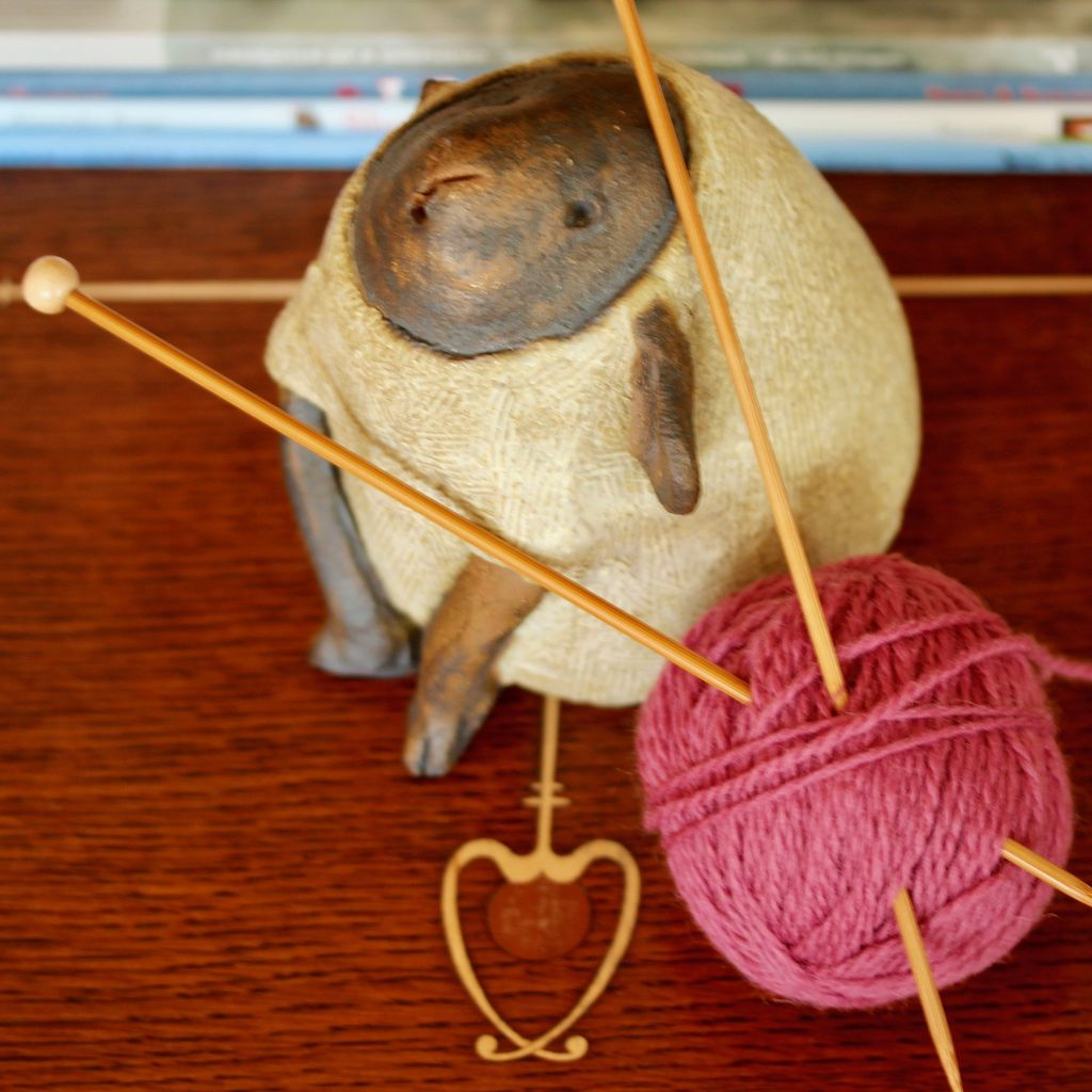 For Yarn's Sake, LLC Knitting Workshop Coterie - Saturday May 11, 2019. Class time: 10am-12pm. Y'vonne Cutright