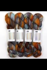 Hedgehog Fibres Hand Dyed Yarns Skinny Singles, Brigid