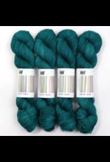 Hedgehog Fibres Hand Dyed Yarns Skinny Singles, Cedar