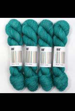 Hedgehog Fibres Hand Dyed Yarns Skinny Singles, Dew