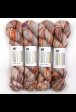 Hedgehog Fibres Hand Dyed Yarns Skinny Singles, Leibling