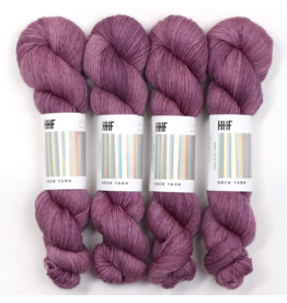 Hedgehog Fibres Hand Dyed Yarns Skinny Singles, Purr