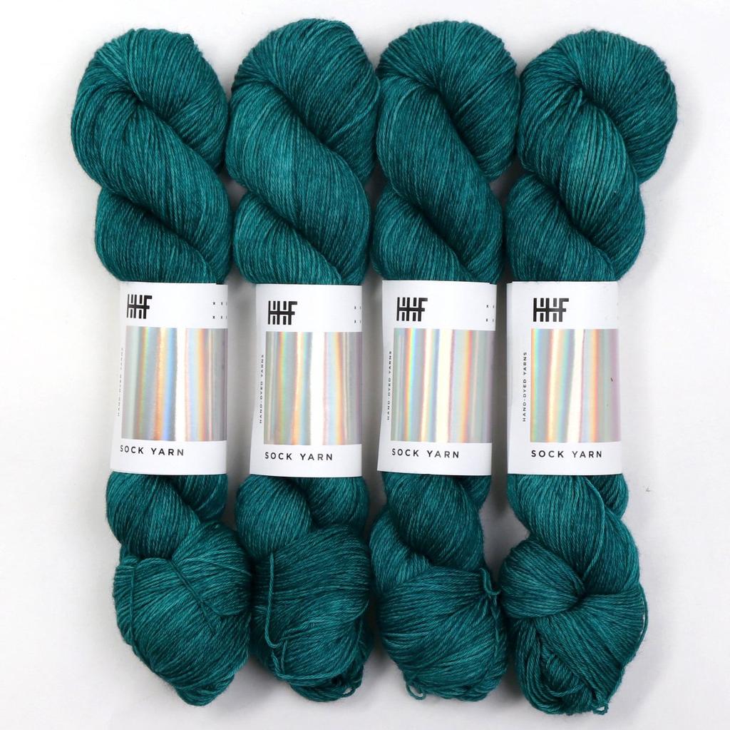Hedgehog Fibres Hand Dyed Yarns Sock Yarn, Cedar