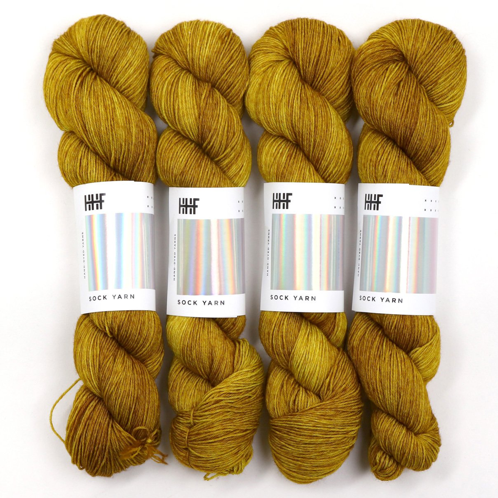 Hedgehog Fibres Hand Dyed Yarns Kidsilk Lace, Kelp