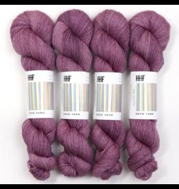 Hedgehog Fibres Hand Dyed Yarns Kidsilk Lace, Purr