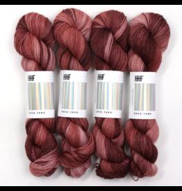 Hedgehog Fibres Hand Dyed Yarns Kidsilk Lace, Rosewood