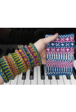 For Yarn's Sake, LLC Herringbone Braids and Beyond: Braided Wristlets. Sunday June 23, 2019. Class time: 12:30-4:30pm.<br /> Michele Lee Bernstein