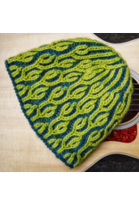 For Yarn's Sake, LLC Two-Color Brioche in the Round: Brioche Pastiche Hat. Saturday July 13, 2019. Class time: 1-4pm.<br /> Michele Lee Bernstein